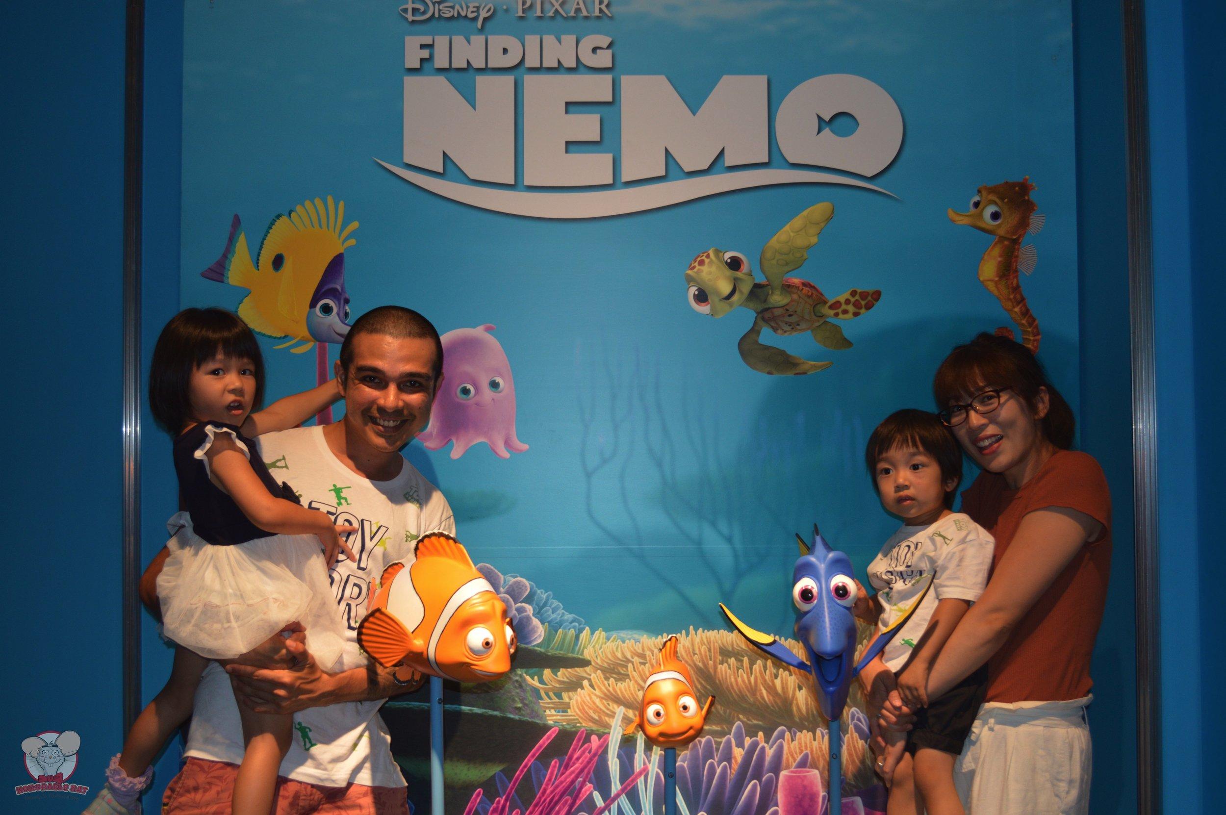 Finding Nemo family photo