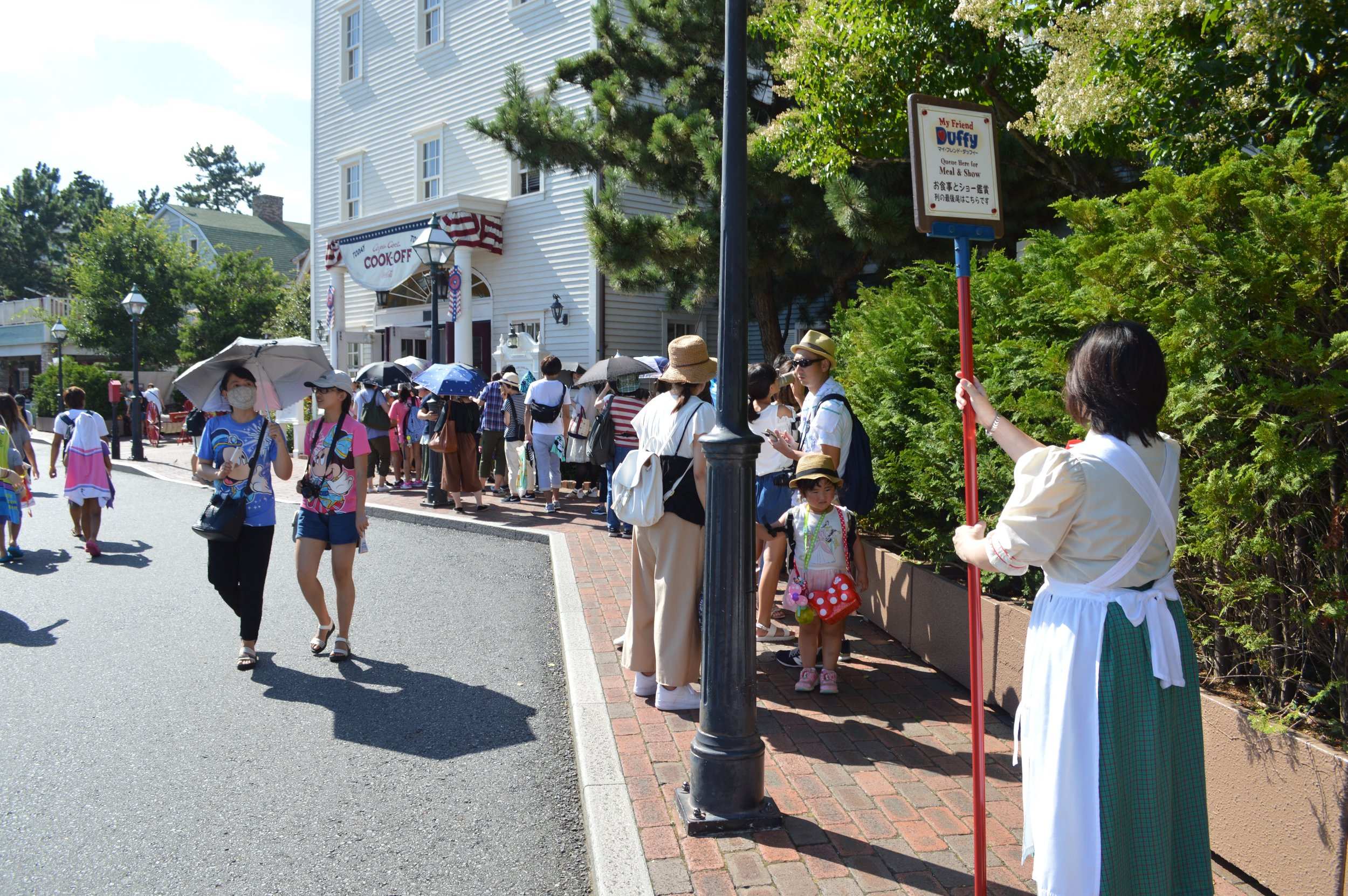 Line for Cape Cod Cook-Off