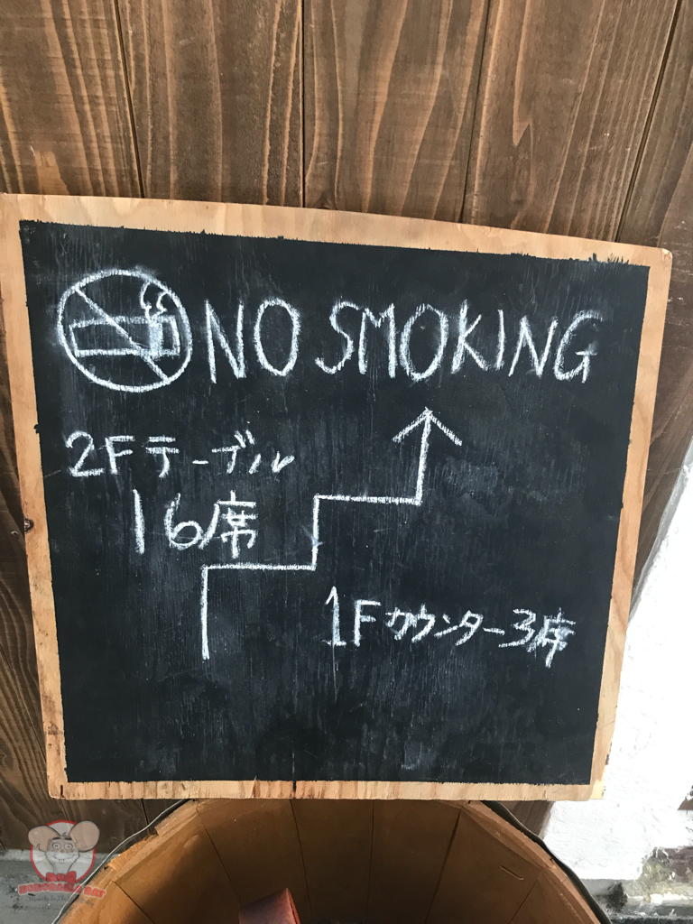 19 seats in total and no smoking