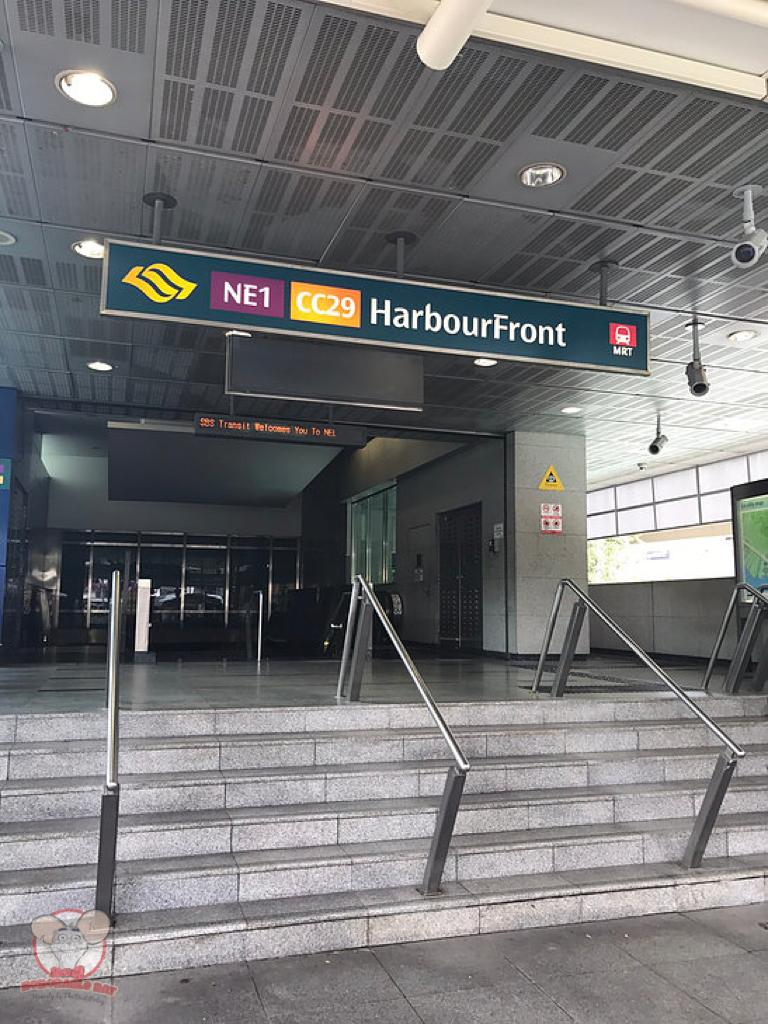 HarbourFront MRT Station