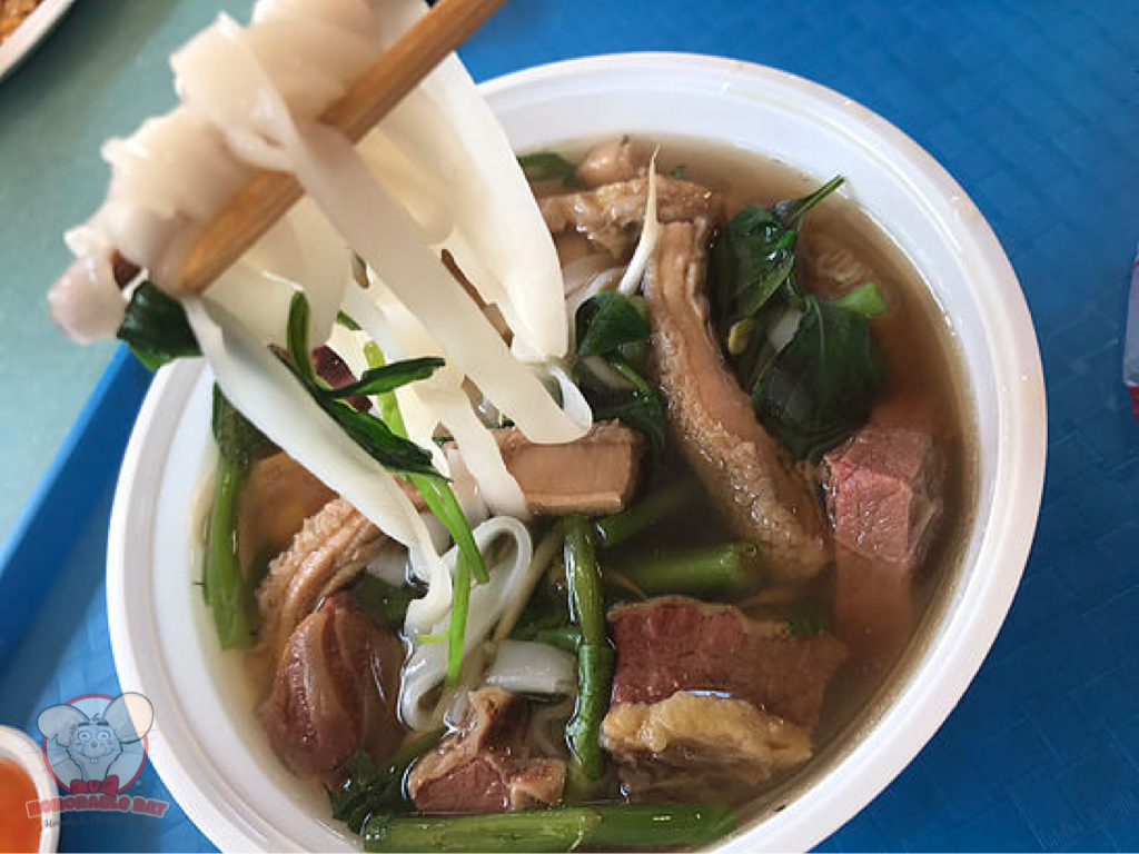 An amazing bowl of beef noodles
