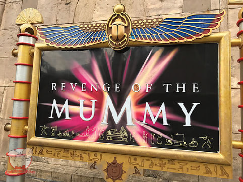 Revenge of The Mummy: The Ride