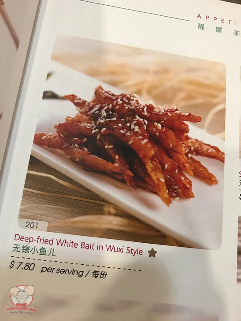 Deep-Fried Whitebait in Wuxi Style Menu