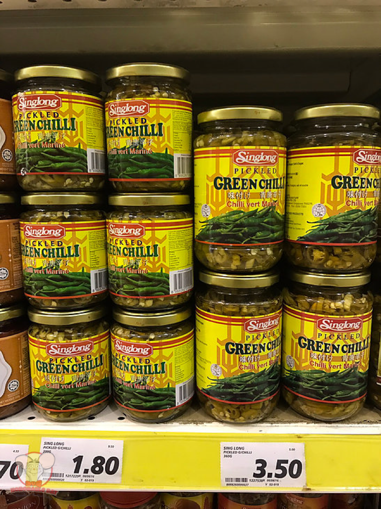 Singlong Pickled Green Chili