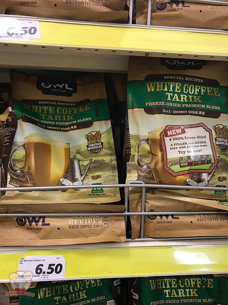 Owl Brand White Coffee