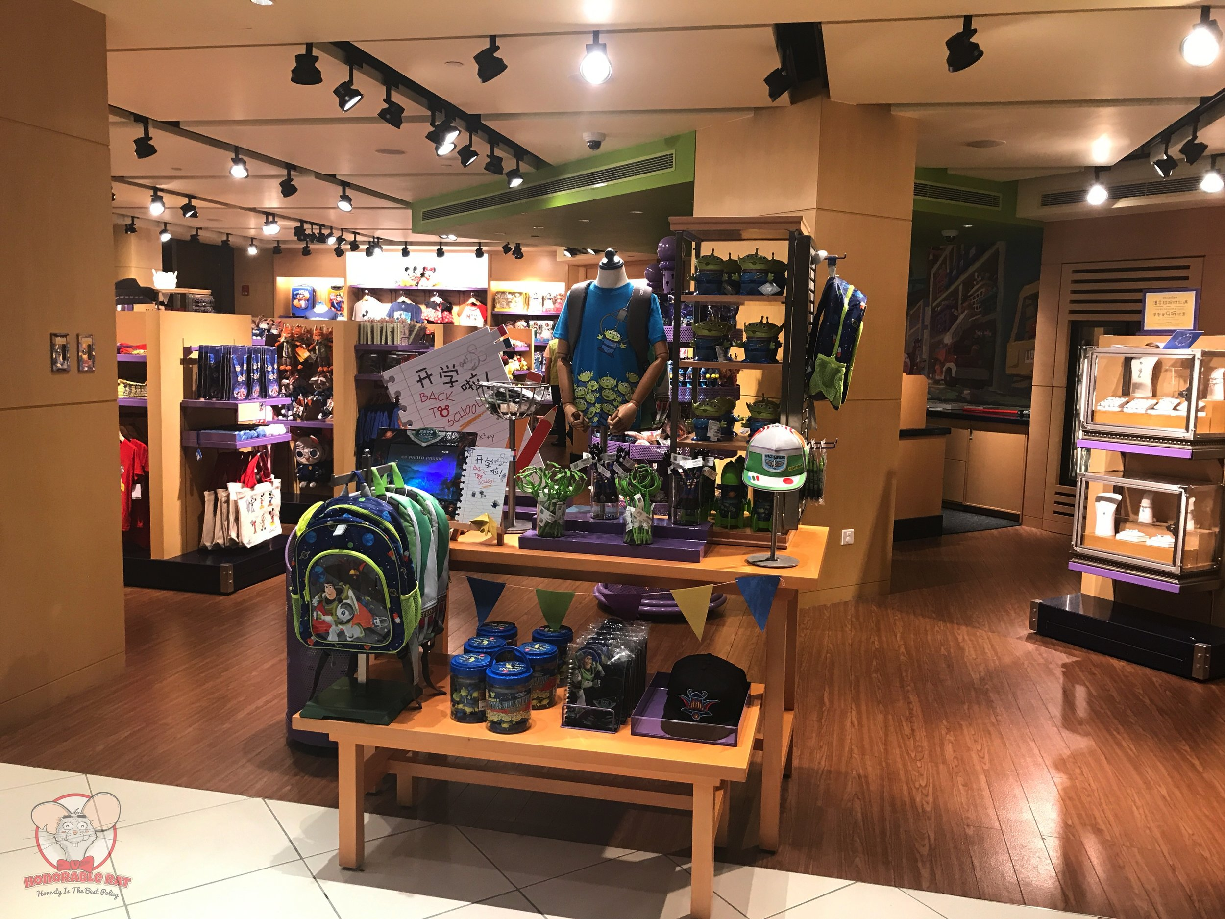 Loads of Toy Story souvenirs