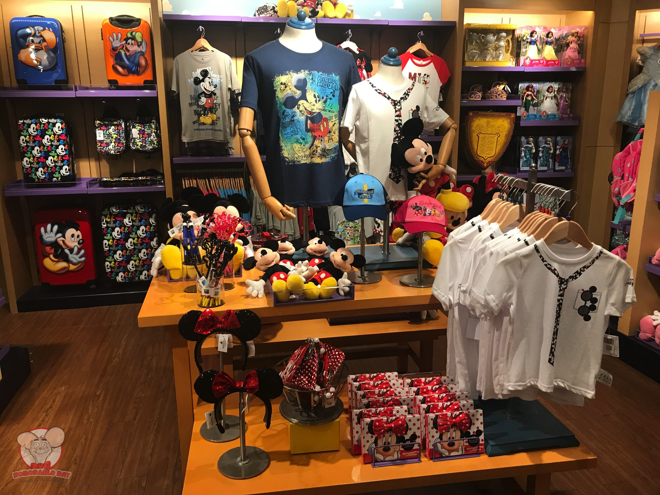 Loads of Mickey products going around