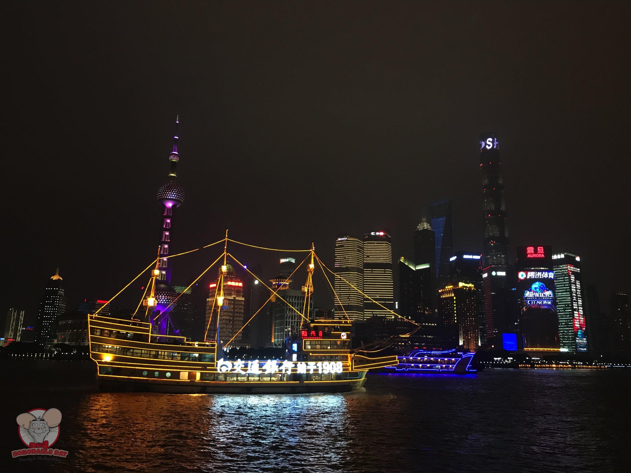 Shanghai's amazing night view