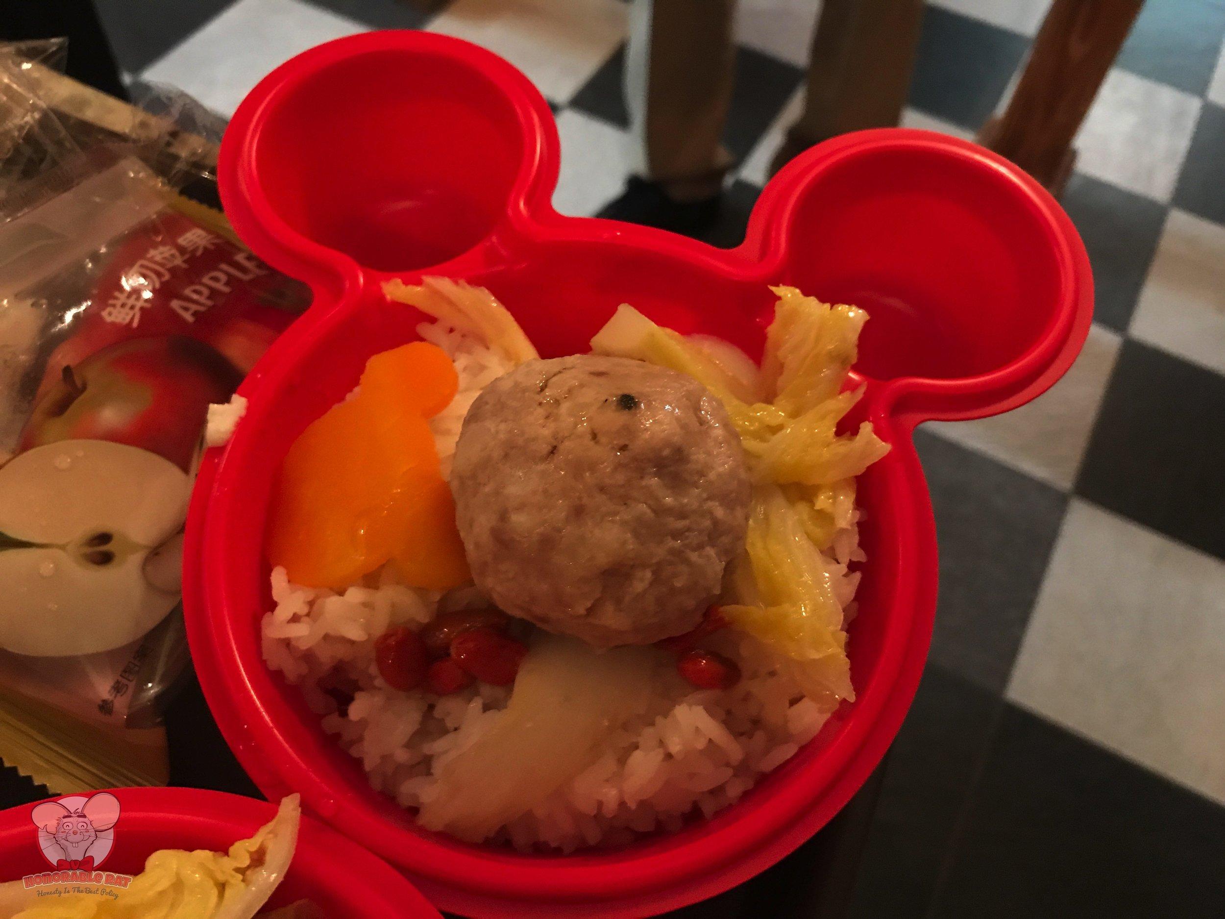 Kid's Meat Balls & Rice