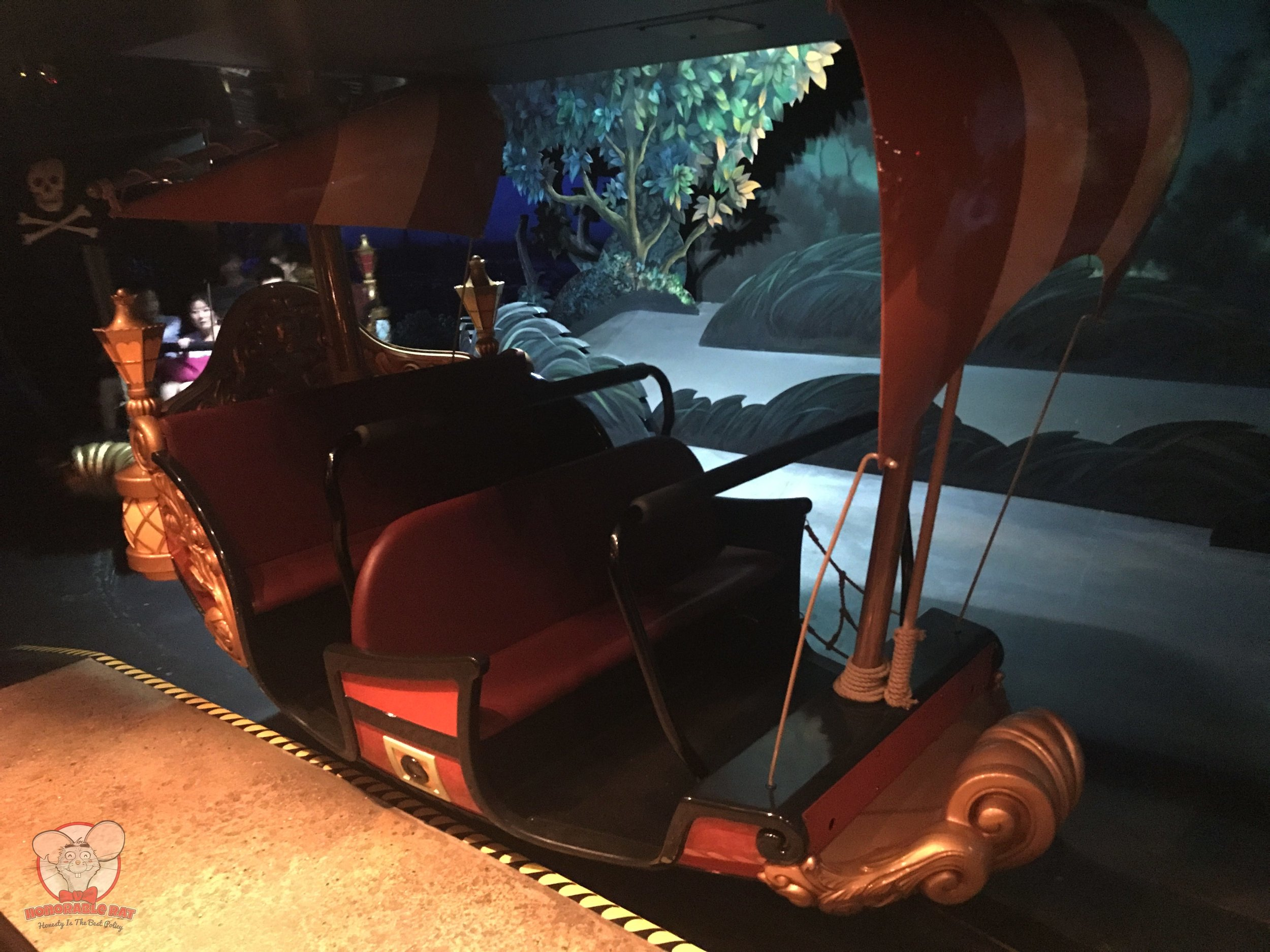 Peter Pan's Flight ride vehicle