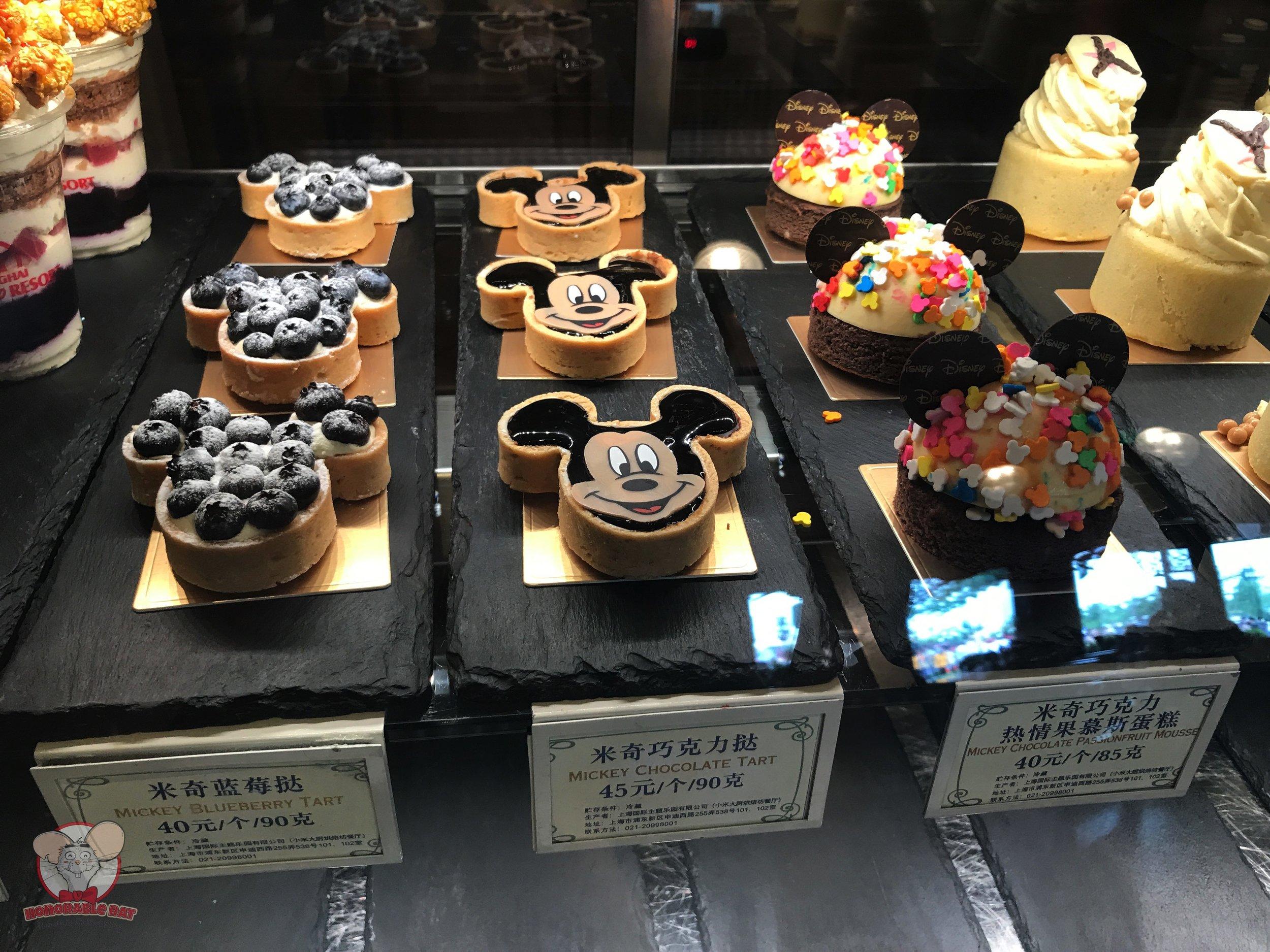 Mickey pastries!
