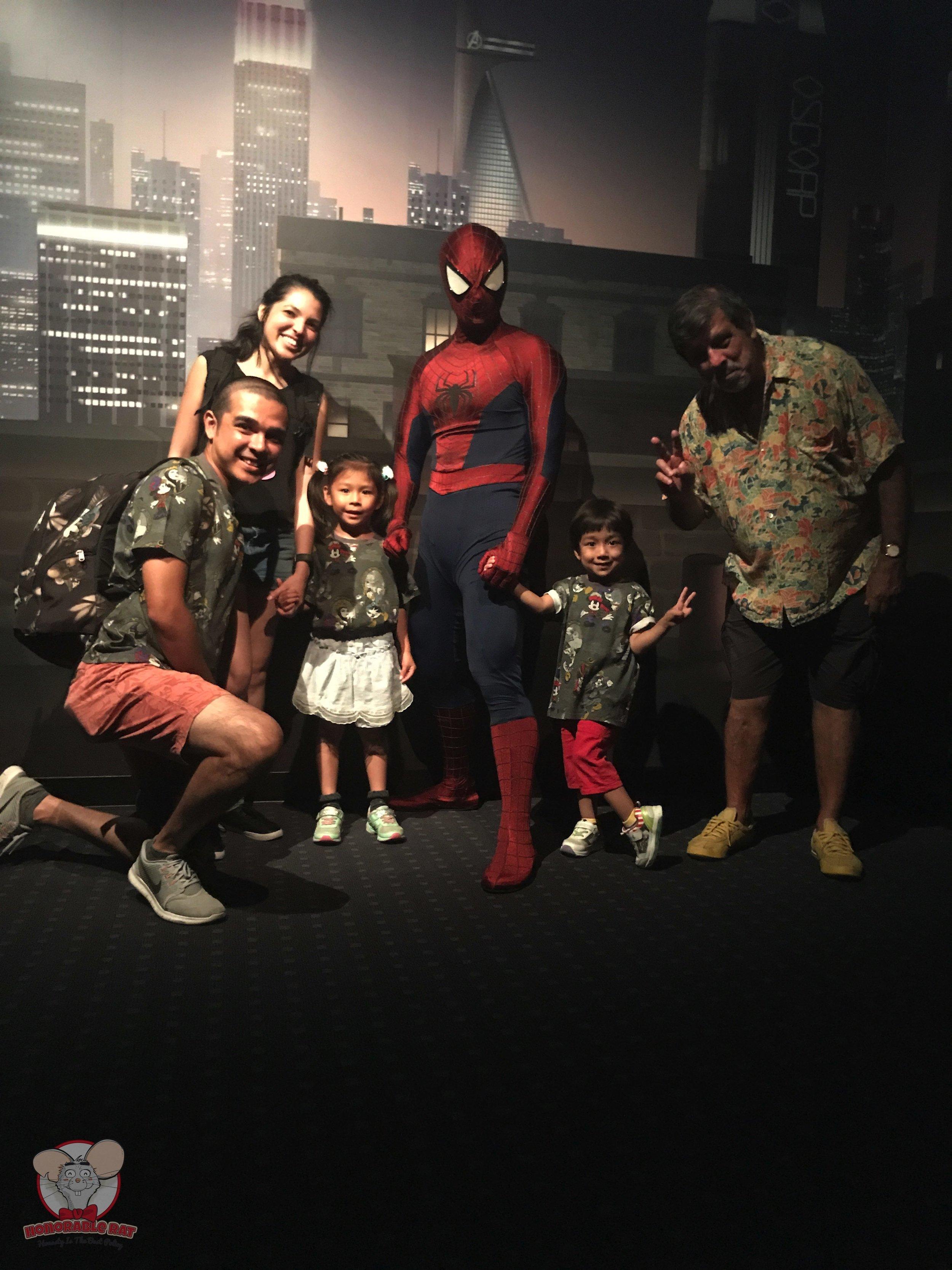 Meeting Spiderman