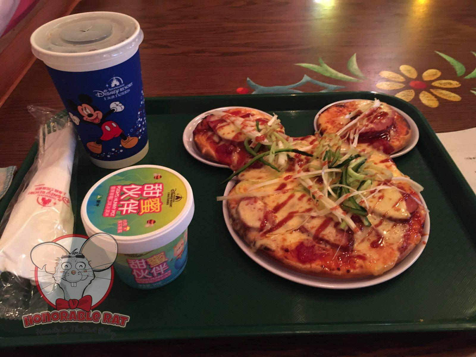 The infamous Peking Duck Pizza