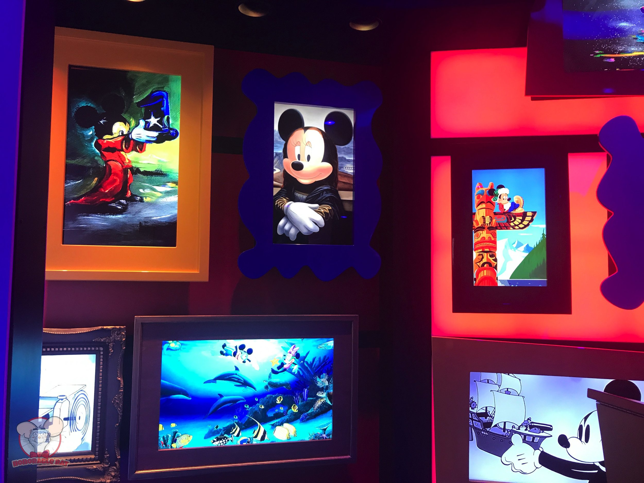 Posters in Mickey's House