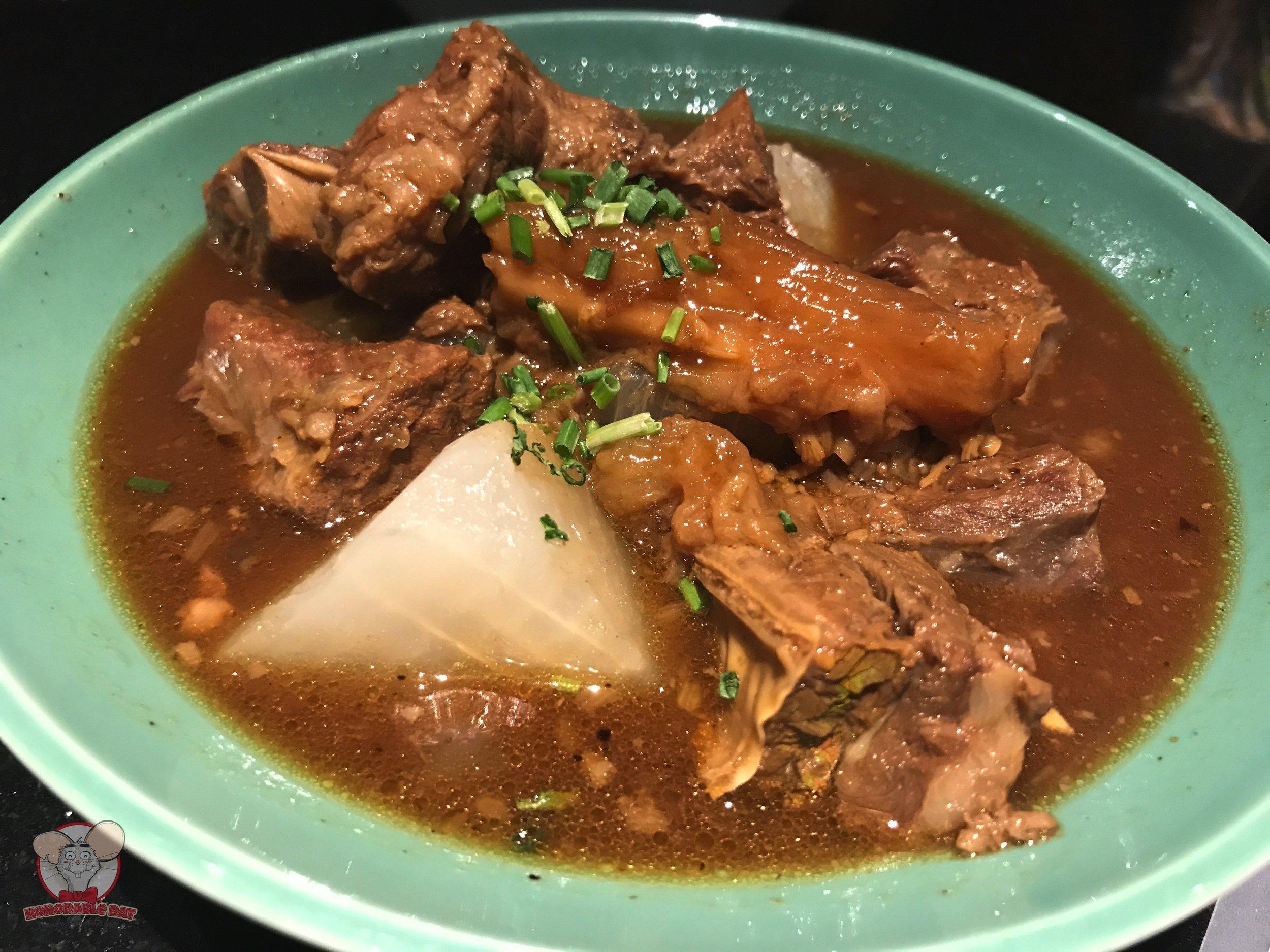 Stewed Beef Tendon with Radish: 72 Chinese Yuan