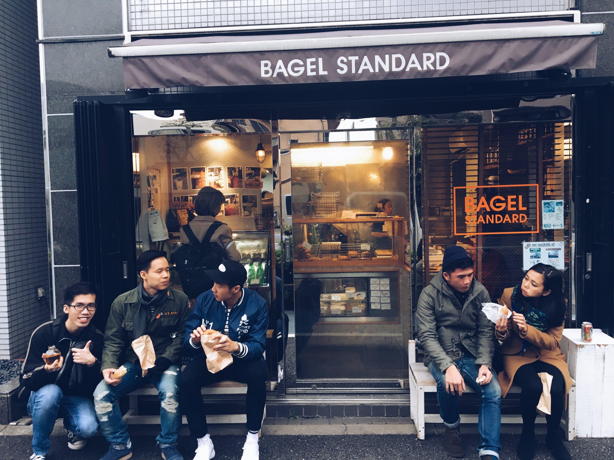 Bagel standard joint