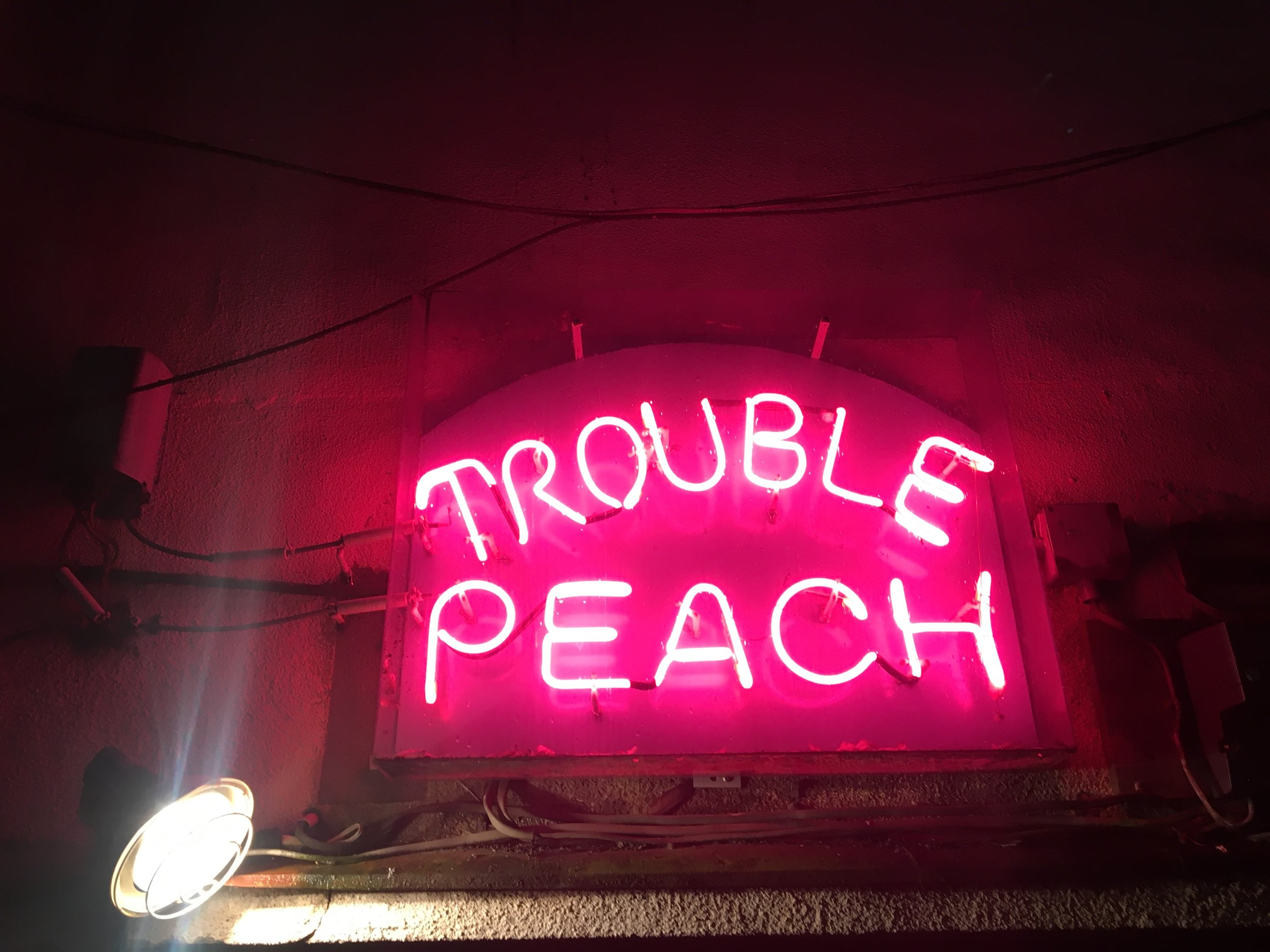 Trouble peach. some night exploring the bar vibes in kings st'