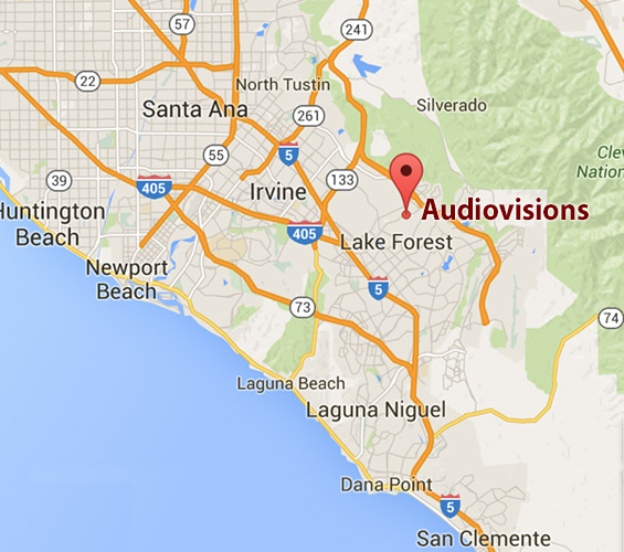 Audiovisions Southern California Office