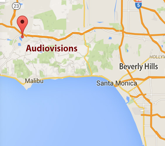 Audiovisions Los Angeles Office