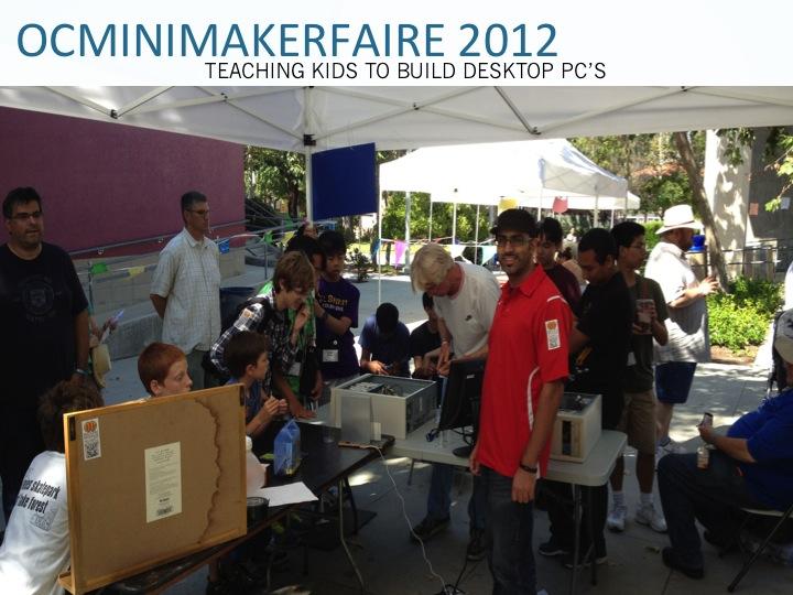 OCHackerz @OC MiniMakerFaire 2012