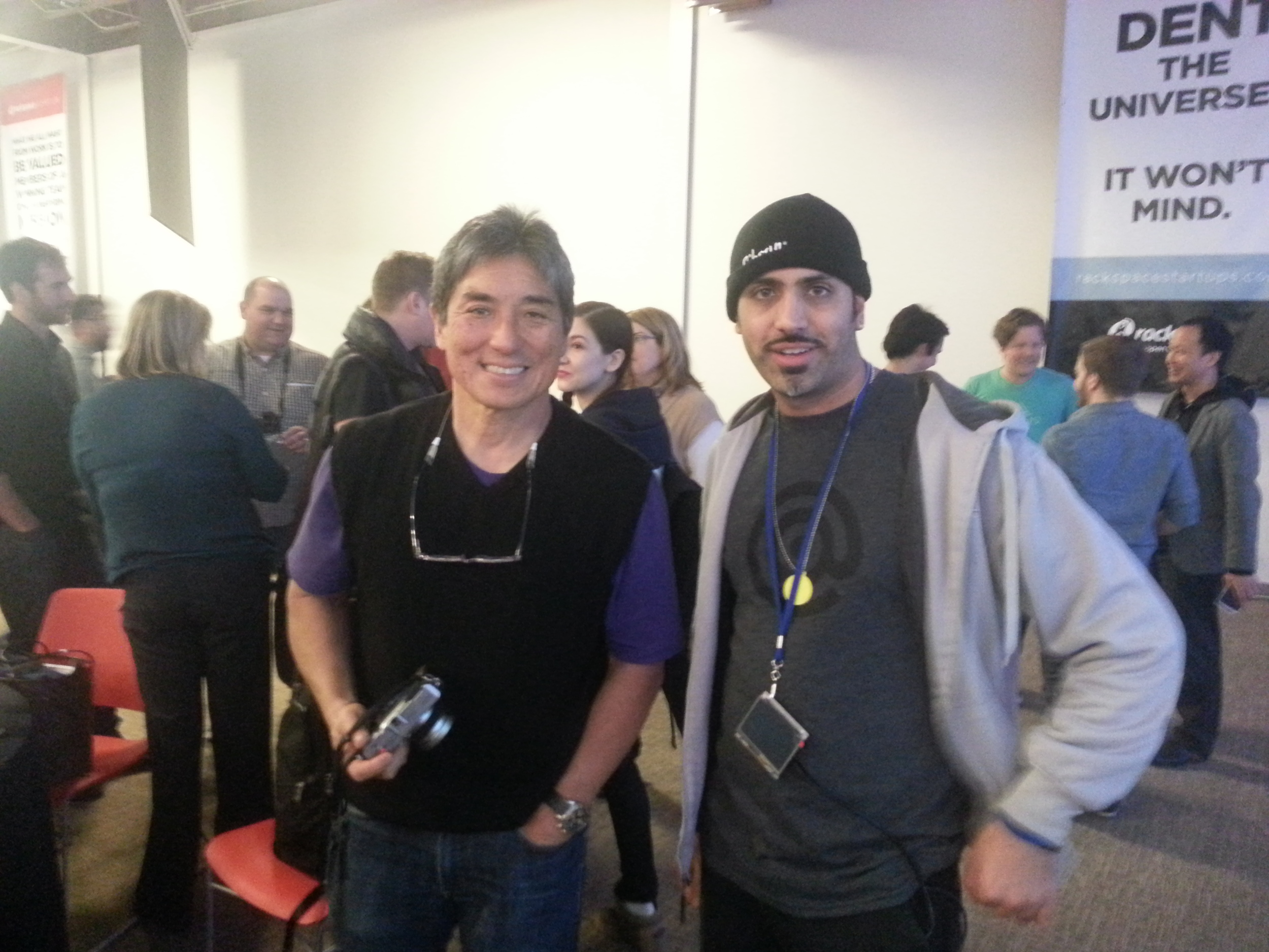 This is Guy Kawasaki the chief evangelist of Canva, a graphics-design online service, and an executive fellow at the Haas School of Business at U.C. Berkeley. Formerly, he was an advisor to the Motorola business unit of Google and chief evangelist of Apple. He is also the author of  APE, What the Plus!, Enchantment,  and nine other books. Kawasaki has a BA from Stanford University and an MBA from UCLA as well as an honorary doctorate from Babson College.