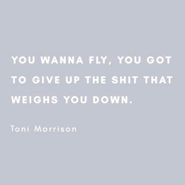 In her words. Vale. #tonimorrison