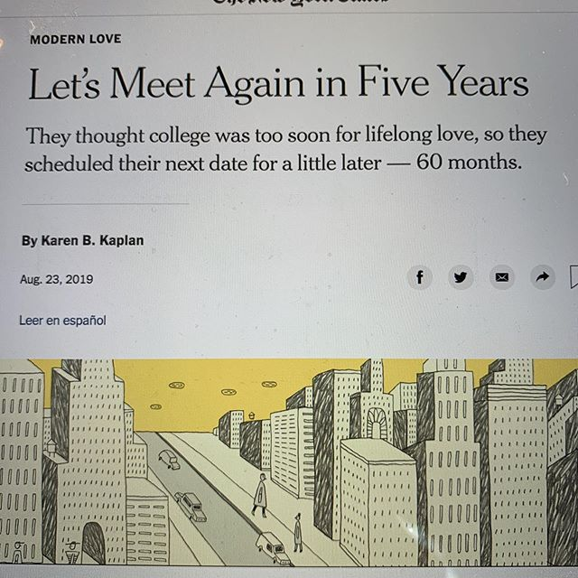 A story to fill your heart! ❤️Thanks to writer and journo @laurenssams for the tip. #newyorktimes