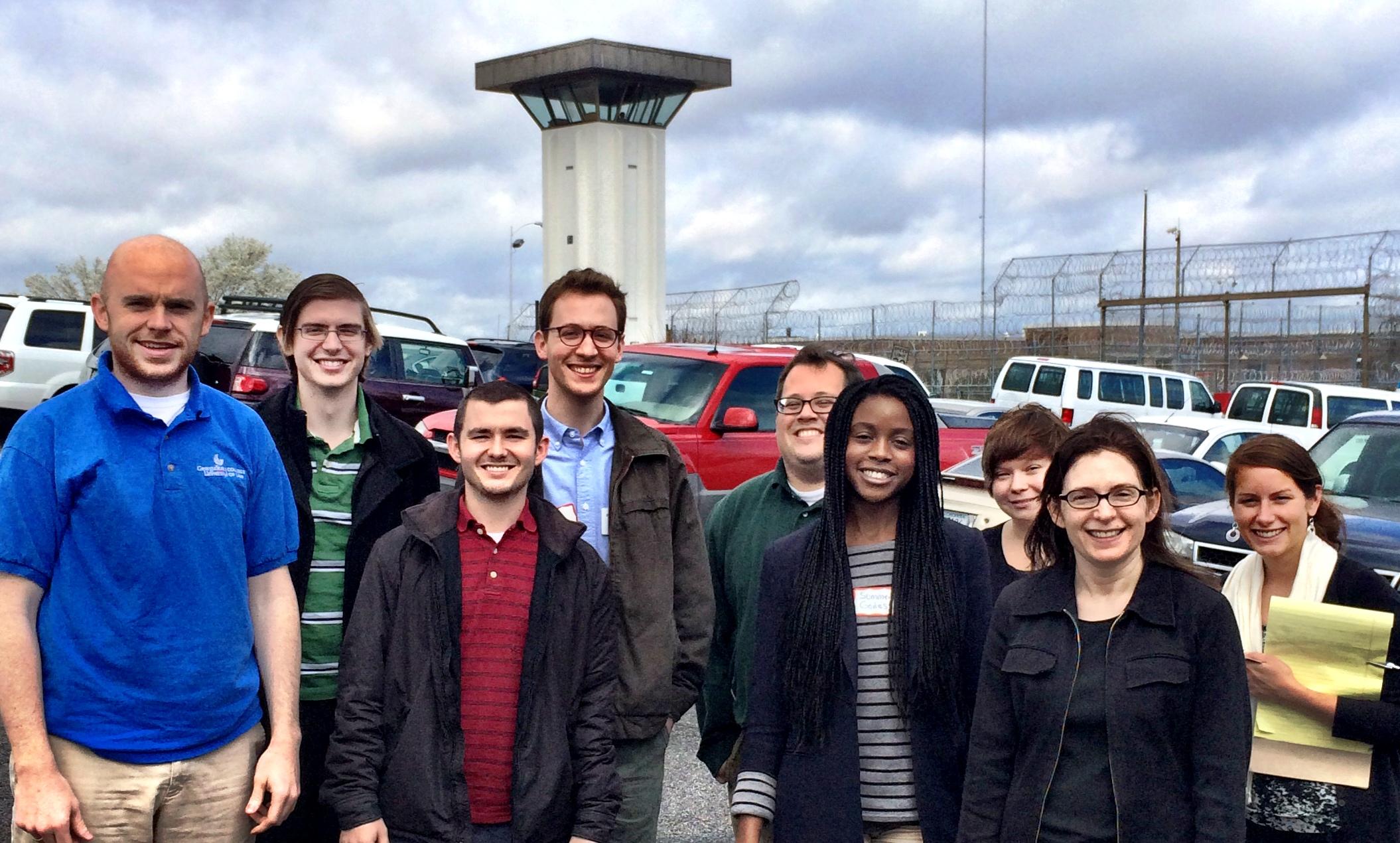 Caren Morrison's law students visit prison