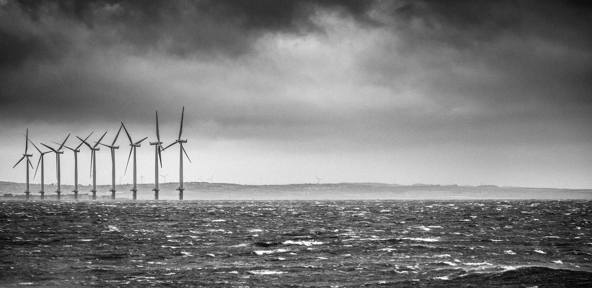 Saltburn Wind Turbines:: © Russell Watkins :: All Rights Reserved
