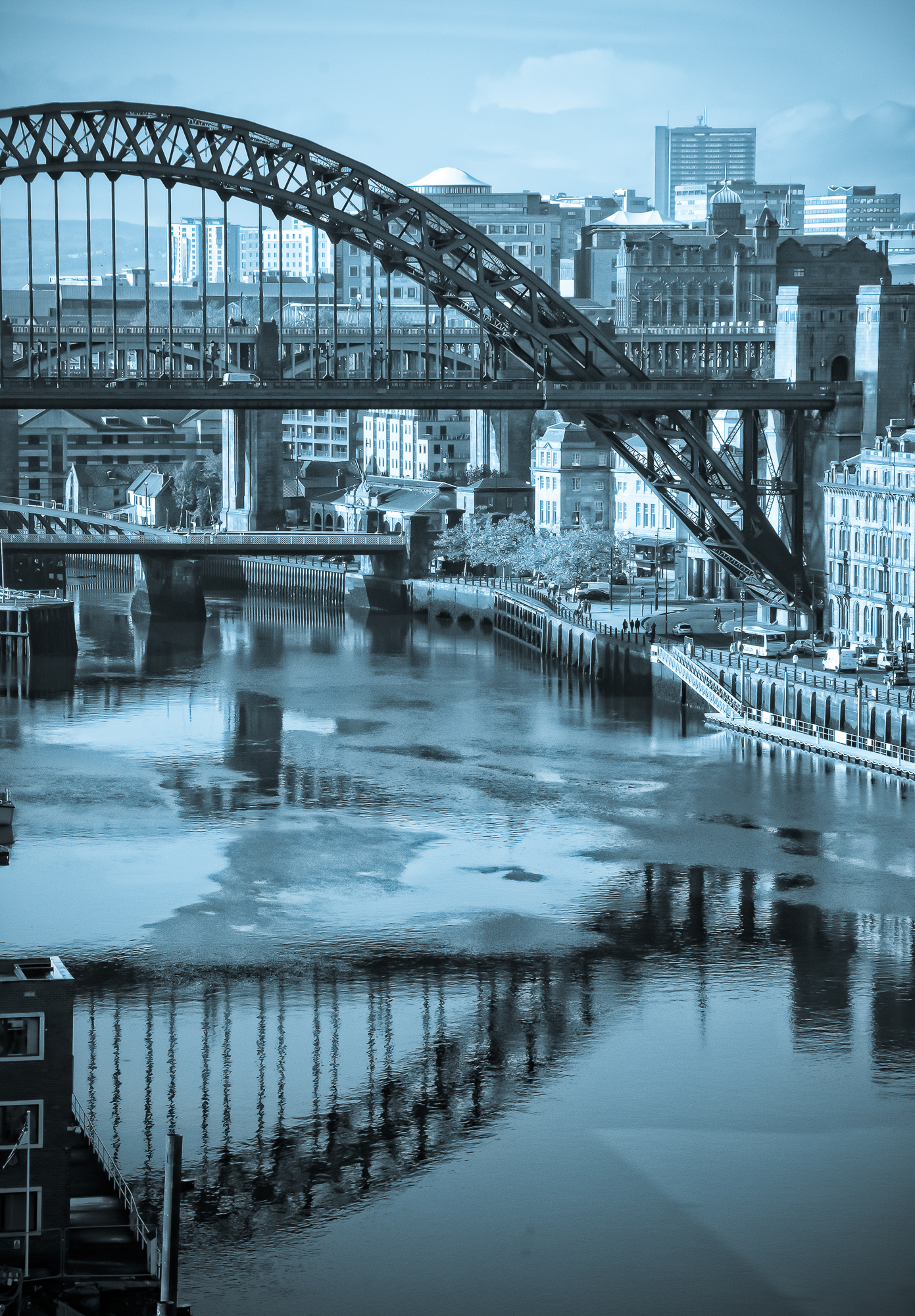 Tyne Bridge from the Baltic:: Image by Peter Bayliss