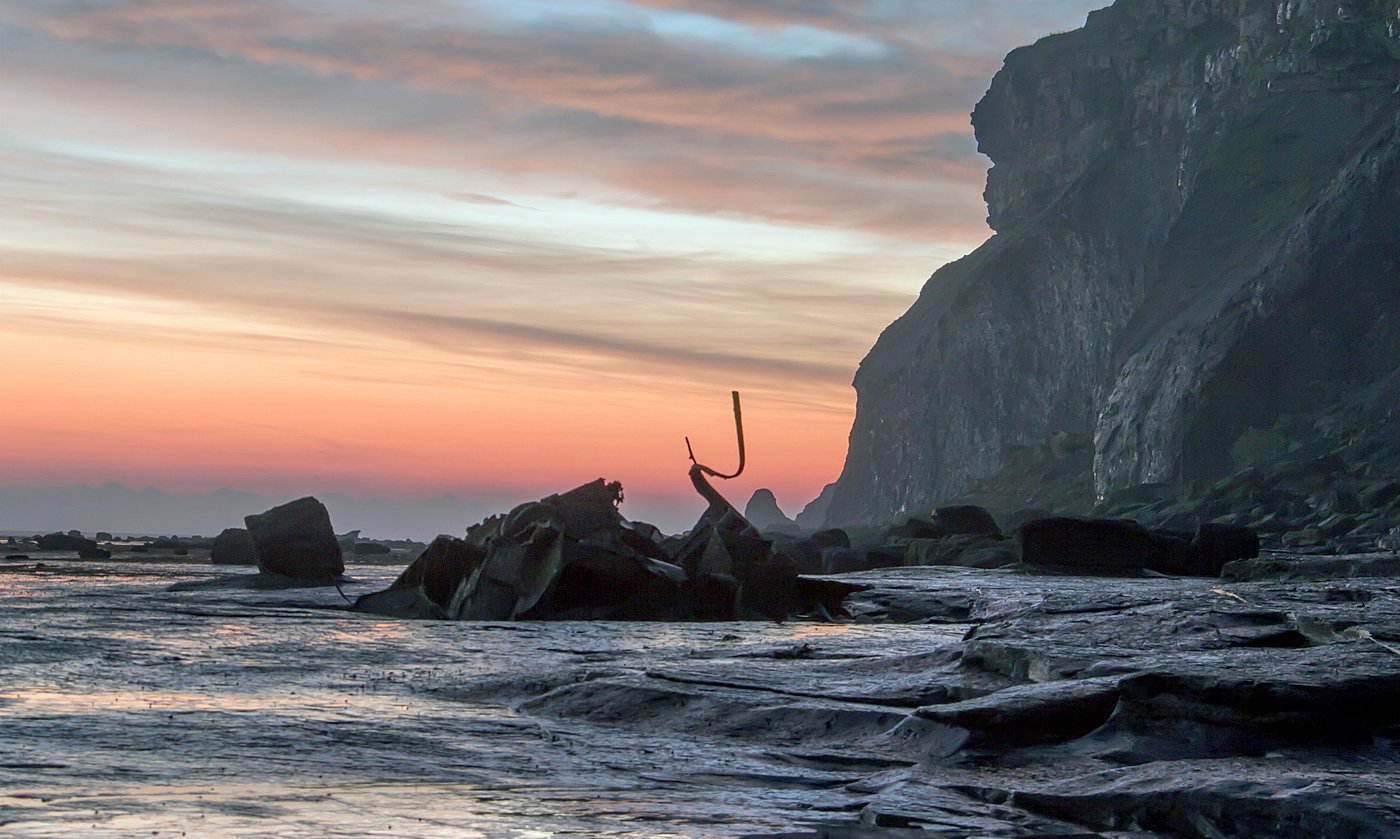 Admiral van Tromp at Dawn :: Alison Taylor :: all rights reserved