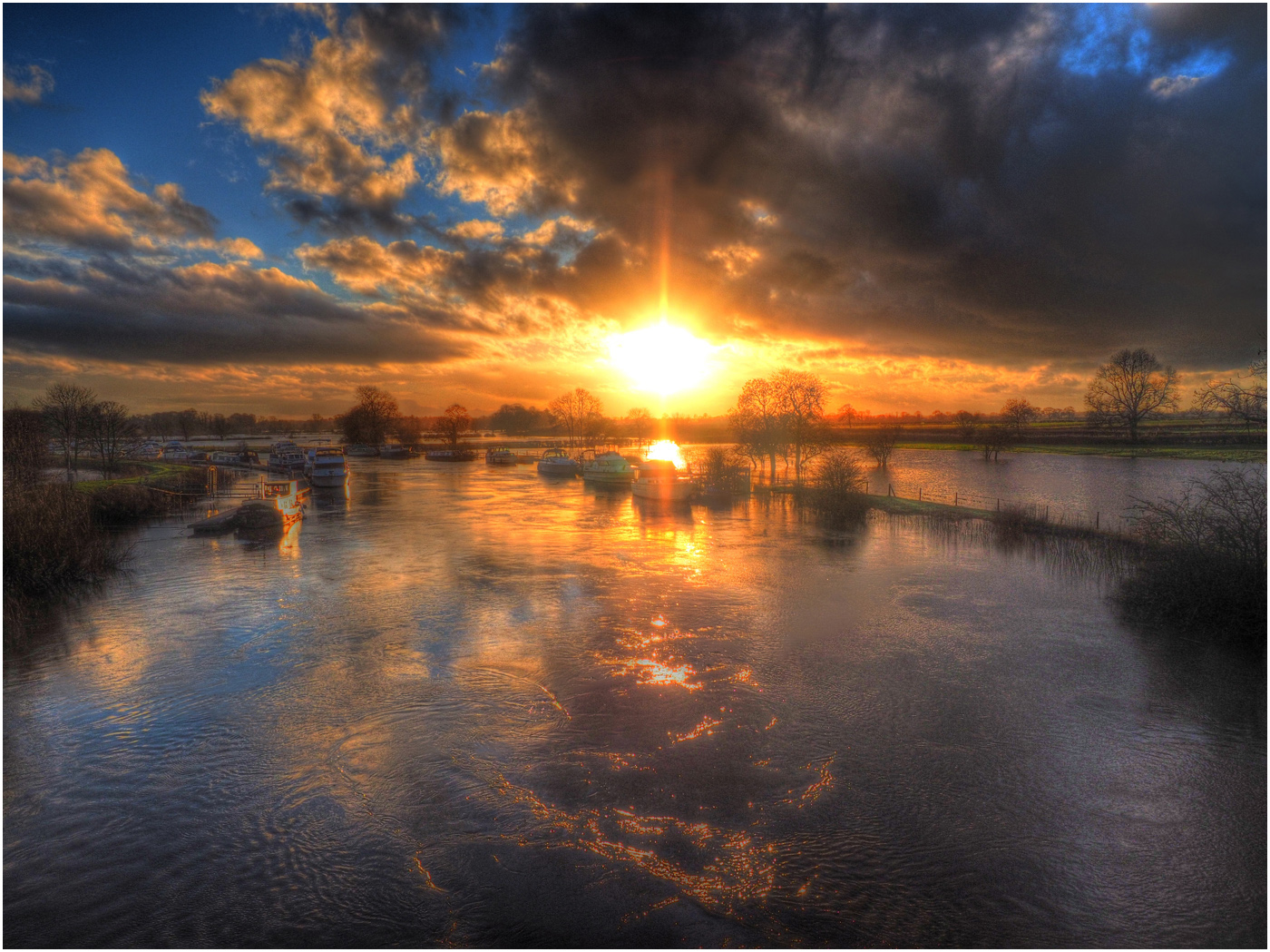 3__Sunset Reflected on the Flooded Ouse_Tim Evans.jpg