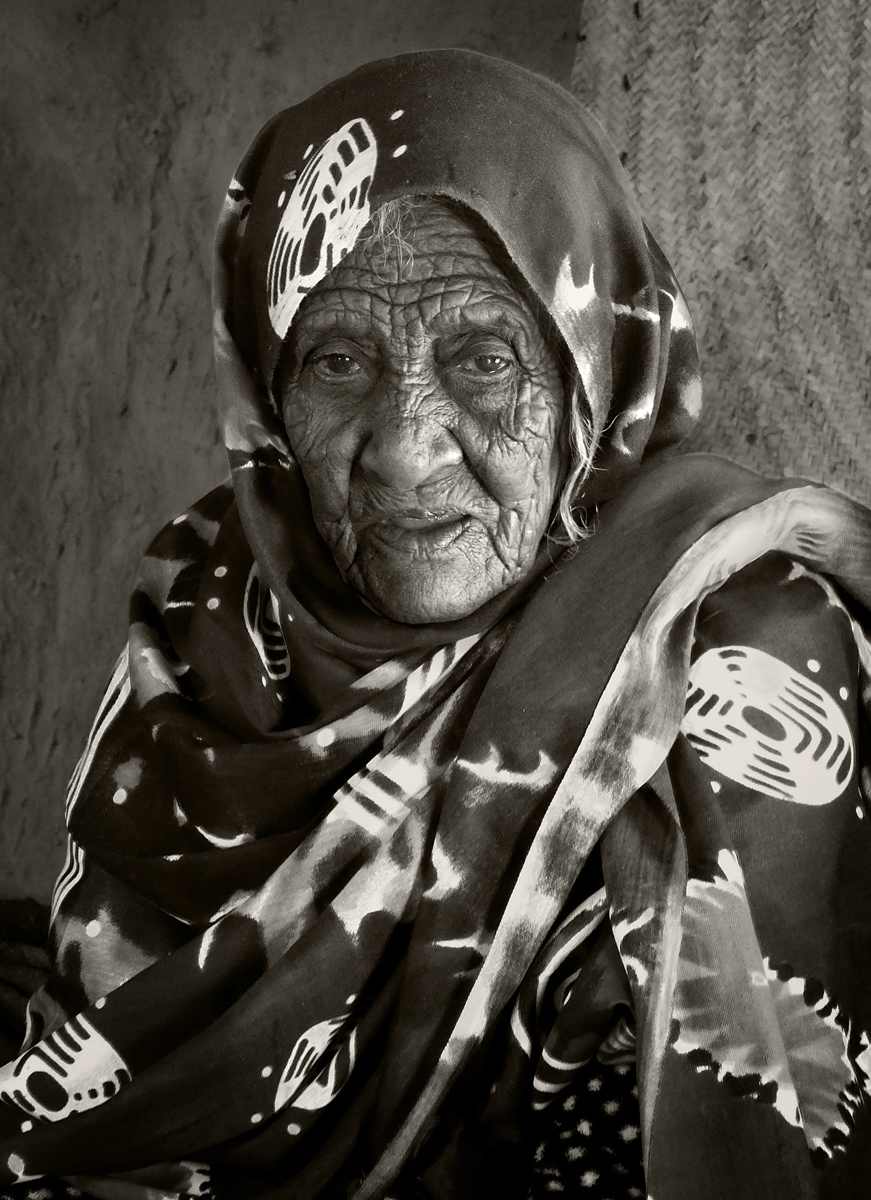 Bishari Lady, Sudan :: David Gough