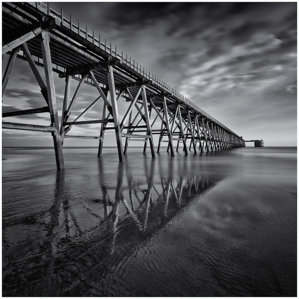 Steetley Pier :: Antony Ward