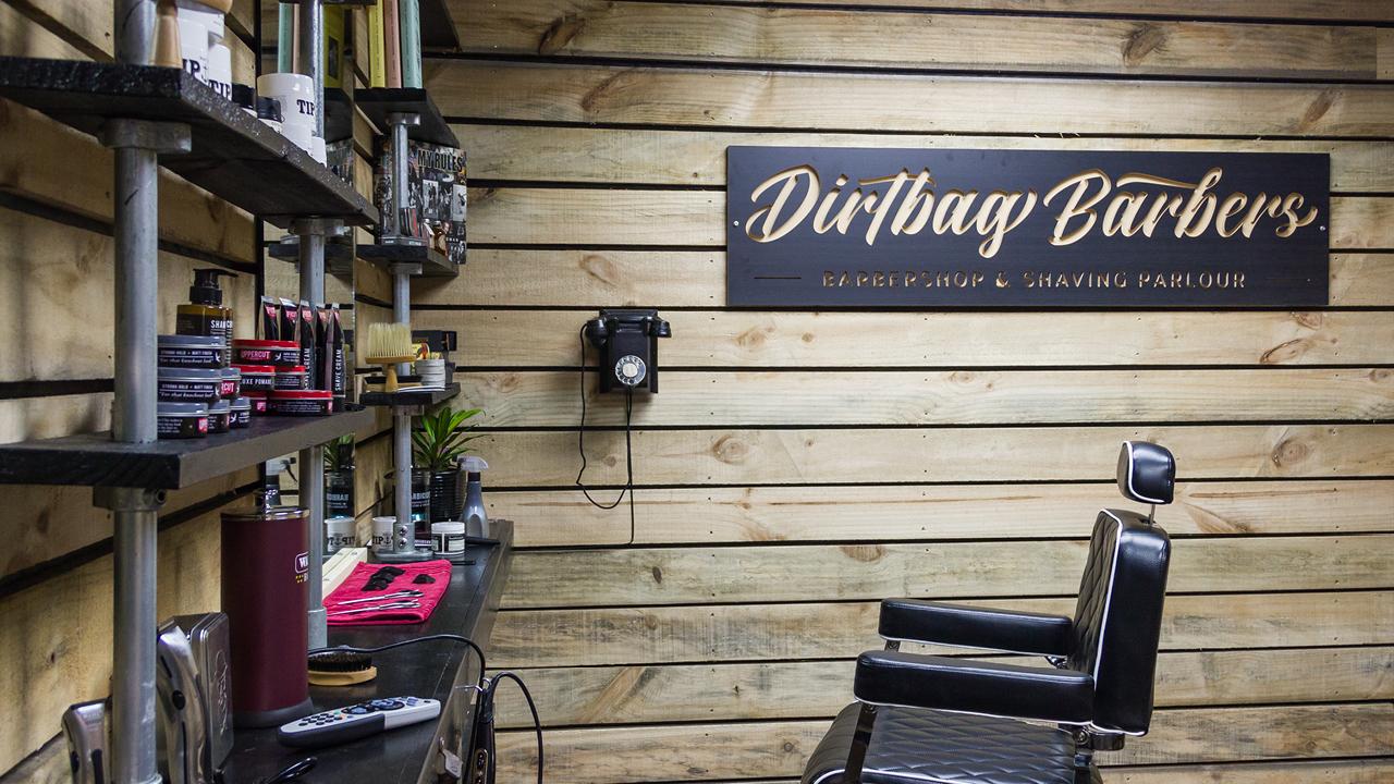Dirtbag Barbers - Branding, Social, packaging