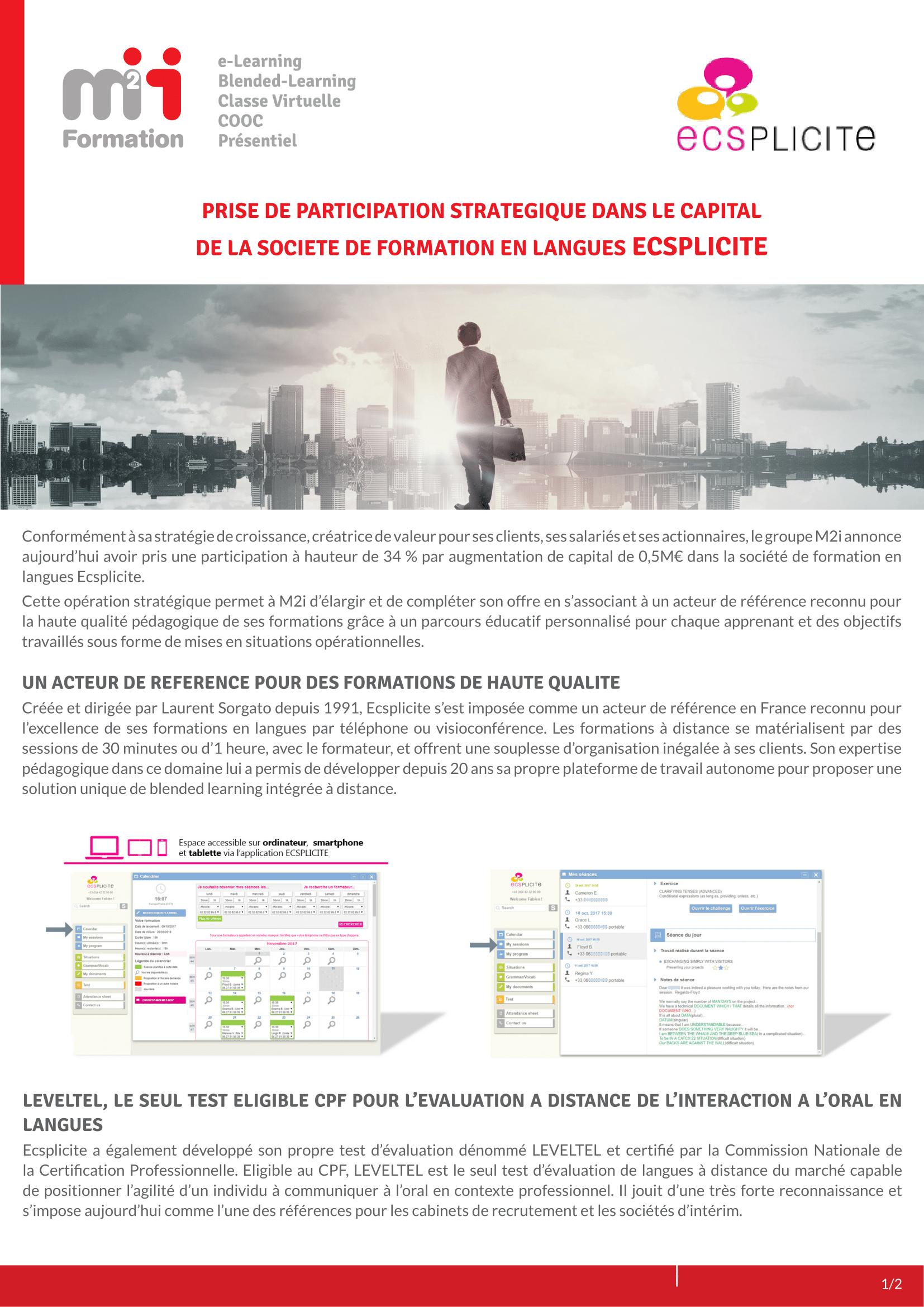 Groupe M2i - Prise de participation stratégique au capital de ECSPLICITE - 12 10 2018 17h35-1.png