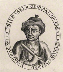 """Wild as """"Thief-Taker General,"""" the public front to a private business.   NPG d8021 ."""