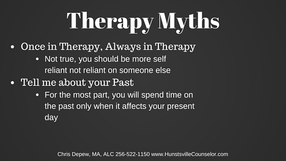 Therapy Myths, Counseling, Therapist, Counselor, Psychotherapy,