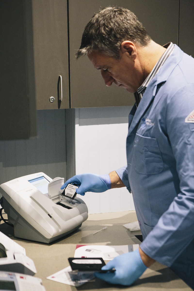 Fingerstick Blood Measurements