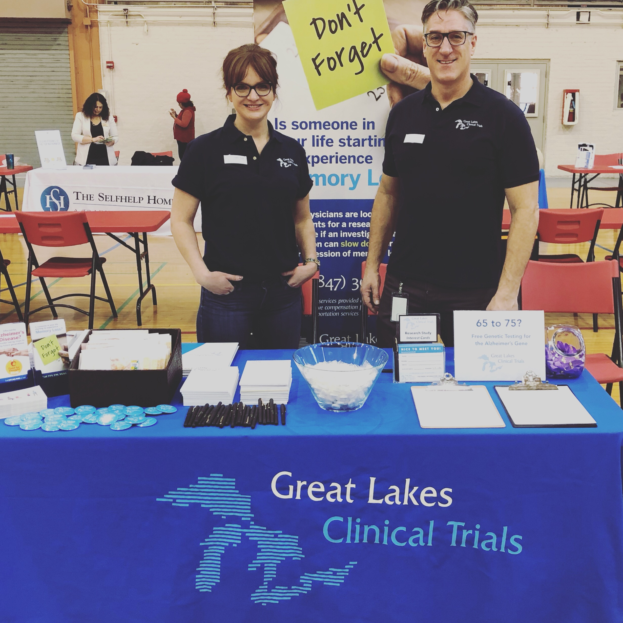 Great Lakes Clinical Trials team members Amber Holst, Director of Marketing and Steve Satek, President will attend the Swing into Spring Expo