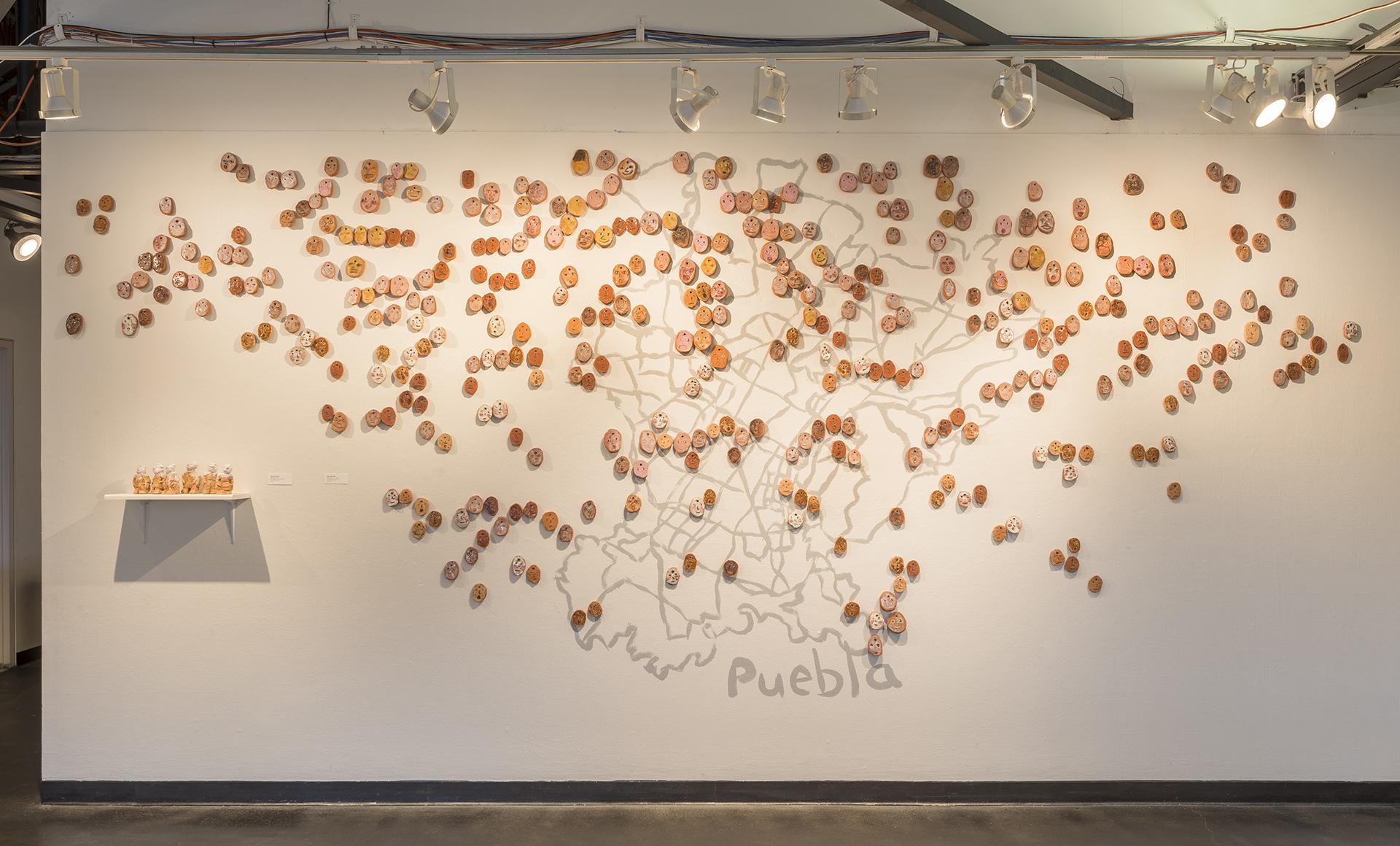 """Encounters"", 2017, Solo Exhibition Installation, Creative Alliance, Baltimore, MD"