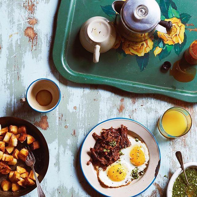 A delicious Cuban breaksfast from @goldbergphoto & @cubacookbook! #cuba #cookbook #emissaryartists #goldbergphoto