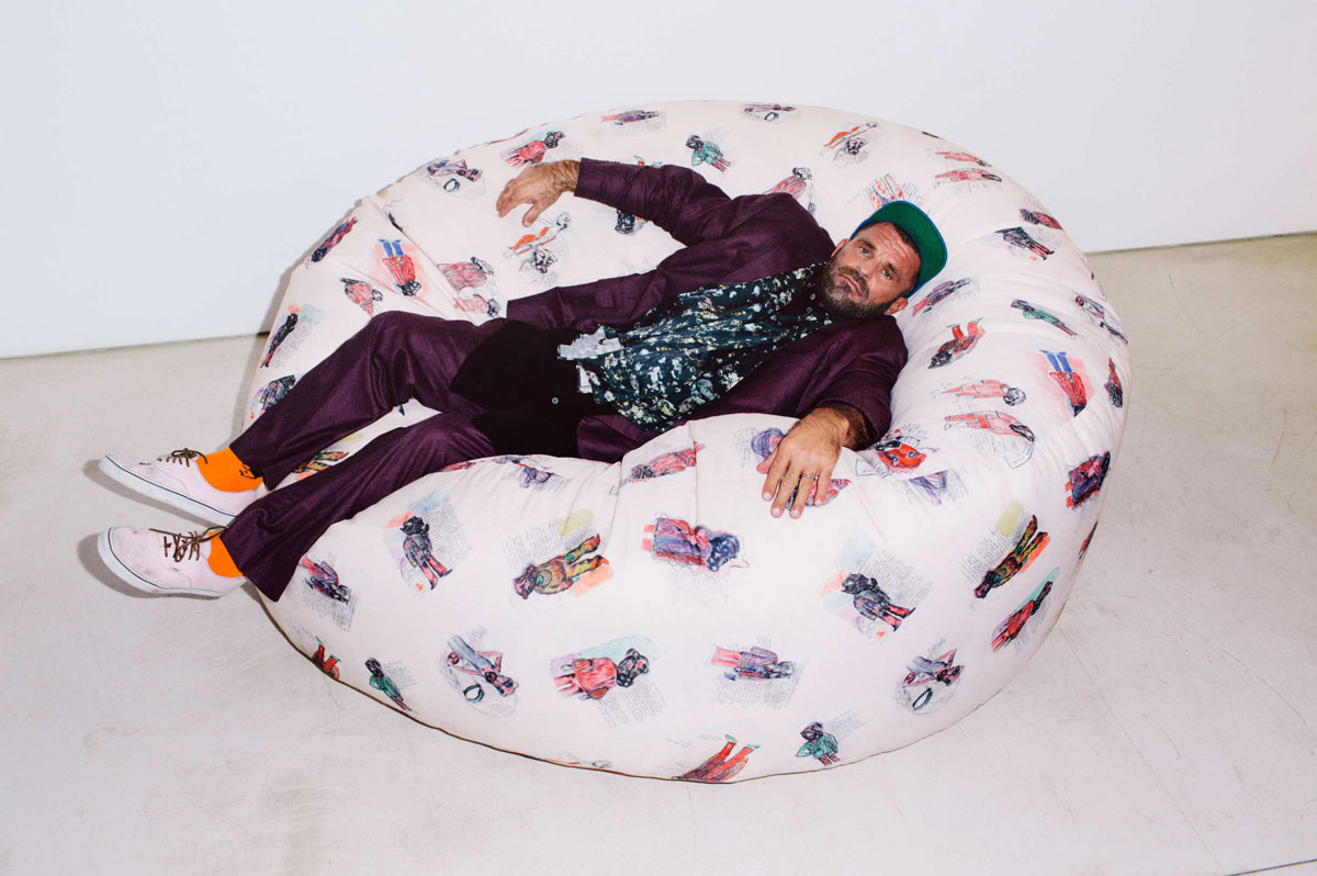 Bjarne Melgaard for  New York Magazine 's The Cut  Photo by  Eric T. White