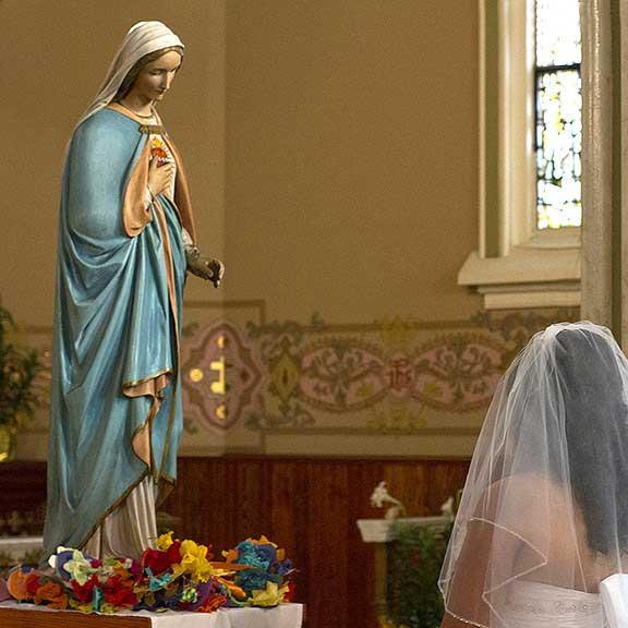 Immaculate Conception & St. Joseph Parishes Catholic wedding in Chicago