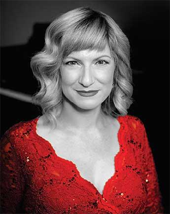 Joan Dauber, who sings in our Sunday choir