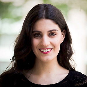 Sophia Ahwazi - Sophia looks forward to singing with the ICSJ music ministry team this year! A native of sunny California, Sophia resides in Chicago where she received her Bachelor's of Music from Roosevelt University's, Chicago College of Performing Arts. Sophia is excited for the upcoming season and is thankful to be a part of the ICSJ music family.