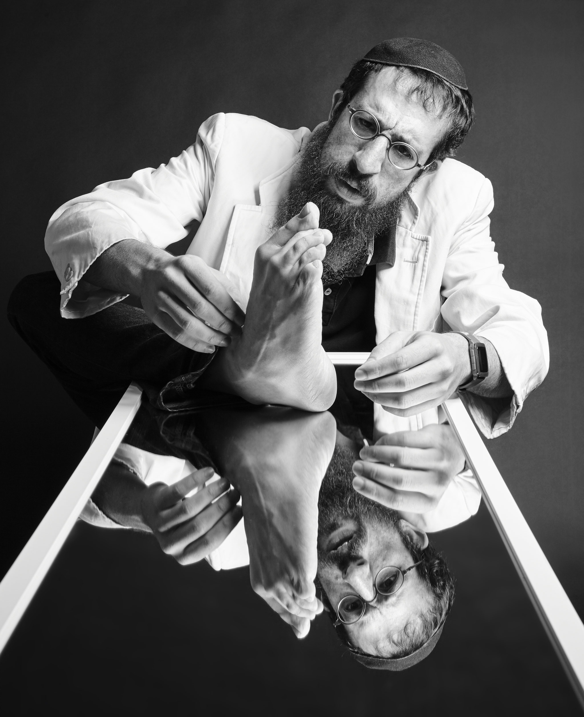 MENDY PELLIN, COMEDIAN, ACTOR, FILM DIRECTOR