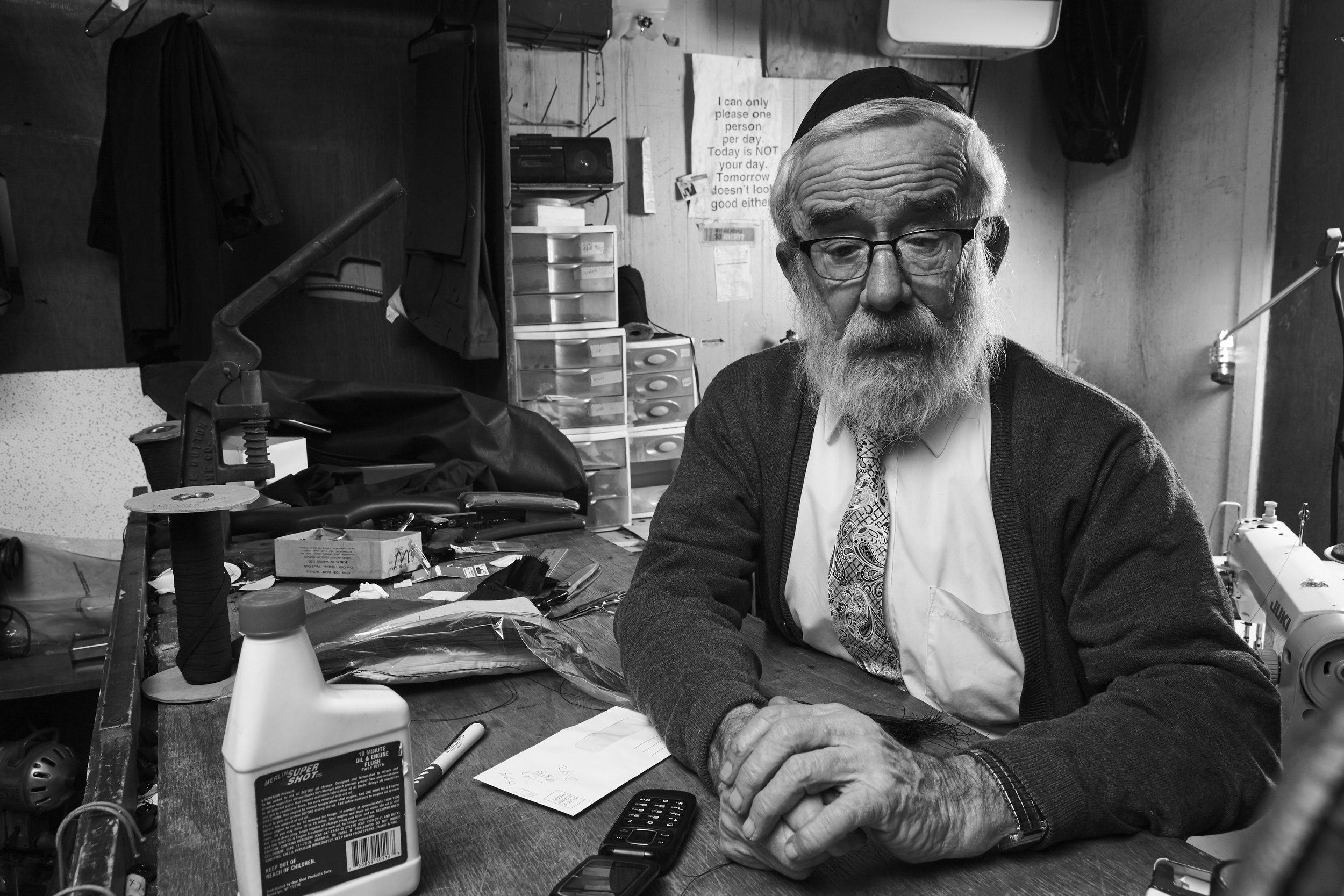 RABBI ISRAEL SHEMTOV, TAILOR, ACTIVIST