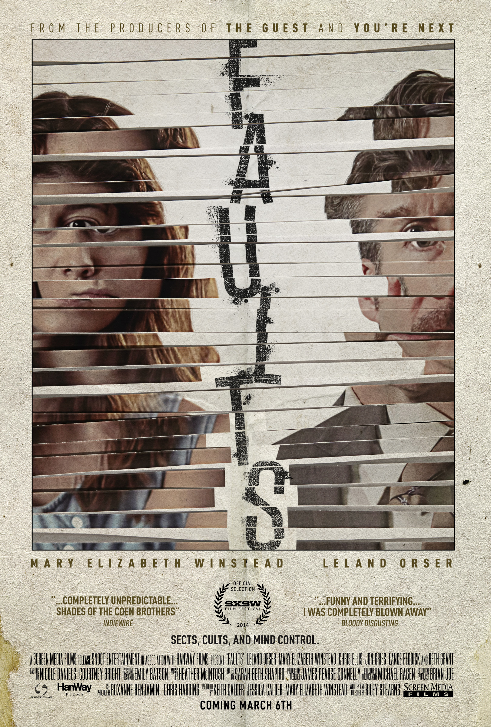 Faults Theatrical Poster