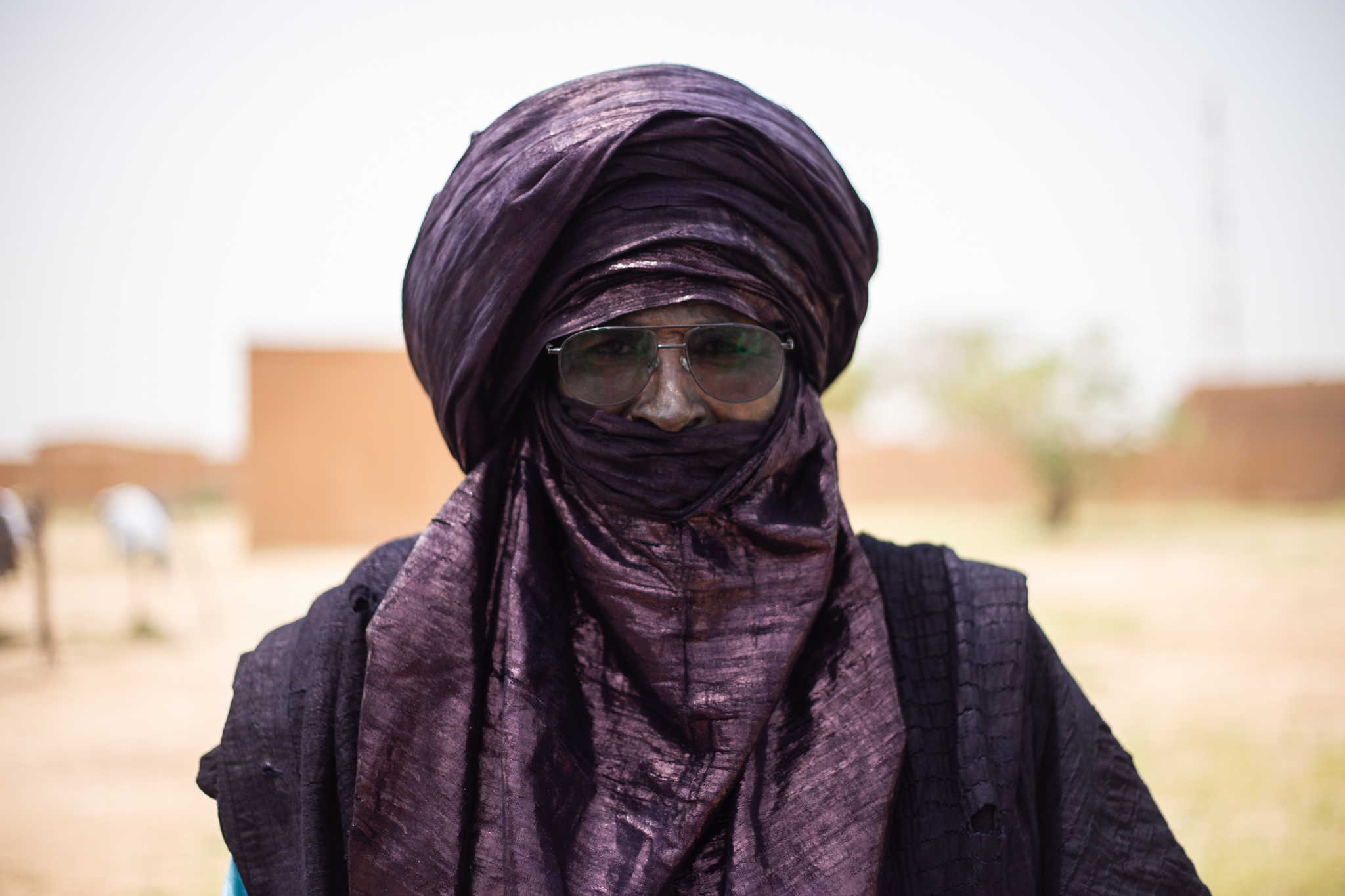 Abbo Ichilane is a respected traditional leader from Iferen village in the Tahoua region.